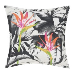 NEW allen + roth Floral Aquarius Tropical Square Throw Patio Pillow