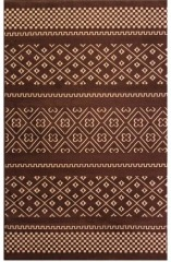 NEW Whistler Brown 5'x 8' Area Rug