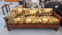 This end up floral sofa