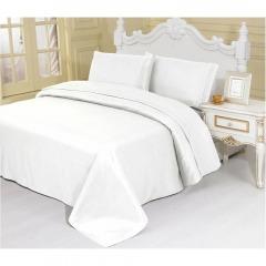 NEW 1800 Thread Count Egyptian Cotton White Sheet Set - King