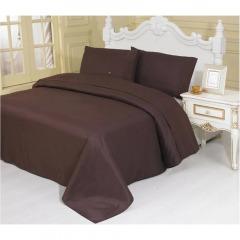 NEW 1800 Thread Count Egyptian Cotton Brown Sheet Set - Queen