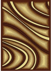 NEW Deco Brown 8x10 Area Rug