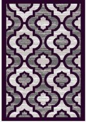 NEW Deco Purple 5x8 Area Rug