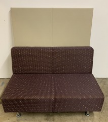 GENTLY USED Office Couch