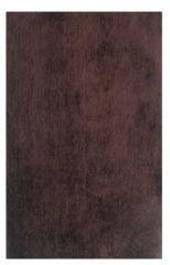 NEW Enchanted Wonderland Dark Brown 8x10 Area Rug