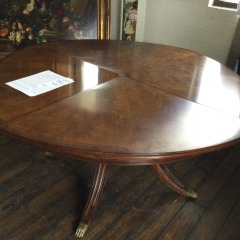 Caracole 59\u201d Walnut Dining Table - BETTER\/NEW FURNITURE