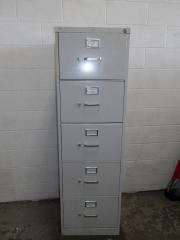 GENTLY USED 5 Drawer Filing Cabinet