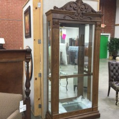 Glass Display Case - BETTER\/NEW FURNITURE