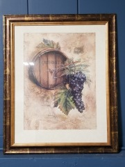 Cabernet Framed Art