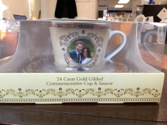 Royal Wedding Tea Cup with Saucer