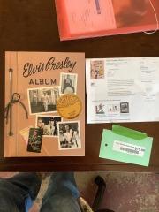 Elvis Presley Album Book
