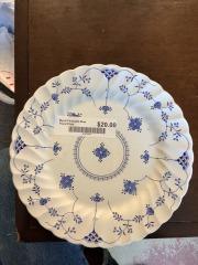 Myott Finlandia Blue Floral Plate