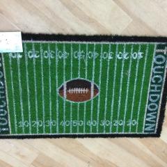 Football Field Doormat - HARDWARE