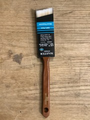 1 1\/2\u201d Angle Brush-Plastic Handle