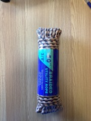 3\/8 x 50' Diamond Braided Rope