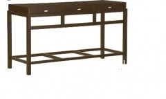 NEW Spats Console Table- Acorn Brown