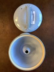 Light Blue Bear Hills Pottery (Newtown, CT) Made in USA