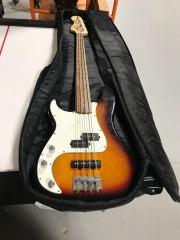 Left Hand Fender Squier Bass Guitar