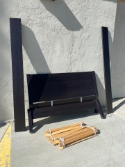 GENTLY USED Full Bed Frame
