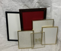 GENTLY USED Various Sized And Colored Frames