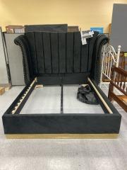 BRAND NEW Cicero Upholstered Platform Queen Bed