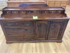 Dark Pine 14 Dresser