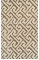 NEW Contempo Beige Area Rug 5'x 8'