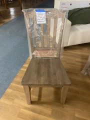 BRAND NEW Wooden Chair
