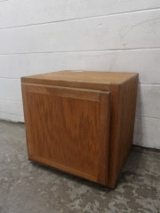 GENTLY USED Small Cabinet On Wheels