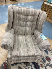 Wingback Arm Chair Upholstered