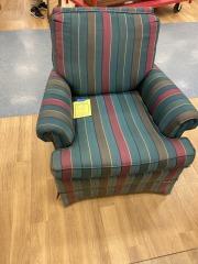 Stripped Arm Chair