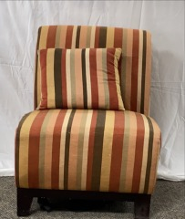 GENTLY USED Striped Chair