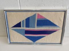GENTLY USED Framed Fabric Art