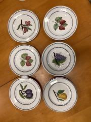 Portuguese Fruit Plate Set