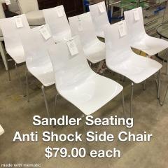 Sandler Seating AntiShock Dining Chair - Better\/New Furniture