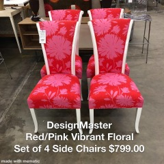 DesignMaster Set of 4 Side Chairs - Better\/New Furniture