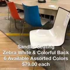 Sandler Seating Zebra Dining Chair - Better\/New Furniture