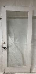 GENTLY USED Glass Door 35.5\