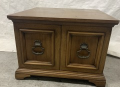 GENTLY USED Square Side Table