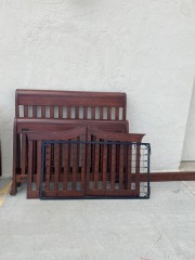 GENTLY USED Trundle Bed