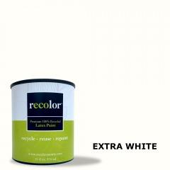 Extra White Flat Finish 5 Gallon