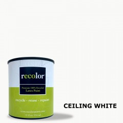Ceiling White Flat Finish Gallon