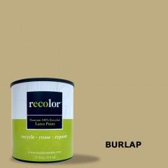 Burlap Wall Finish Gallon