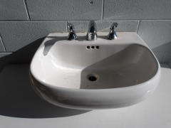 GENTLY USED Bathroom Sink