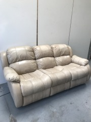 GENTLY USED Recliner Sofa