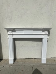 GENTLY USED Mantel