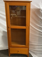GENTLY USED Display Cabinet