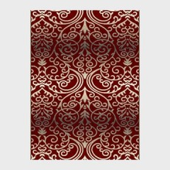 NEW Shadow Red Area rug 8'x 10'