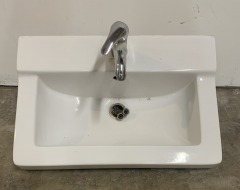 GENTLY USED Sink With Faucet