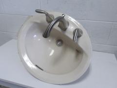 GENTLY USED Bathroom Sink